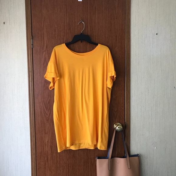 e40f92737ae H M Dresses   Skirts - Yellow Shirt Dress